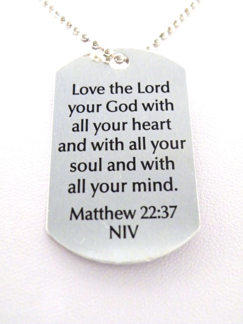 Matthew 22:17 With all your heart