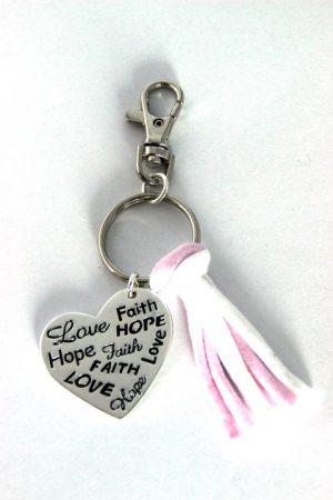 Faith/Hope/Love - roze